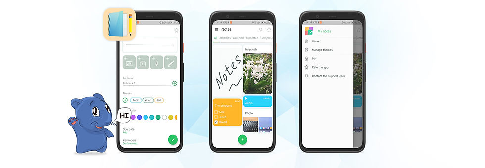 Notes: органайзер заметок для Android и iOS