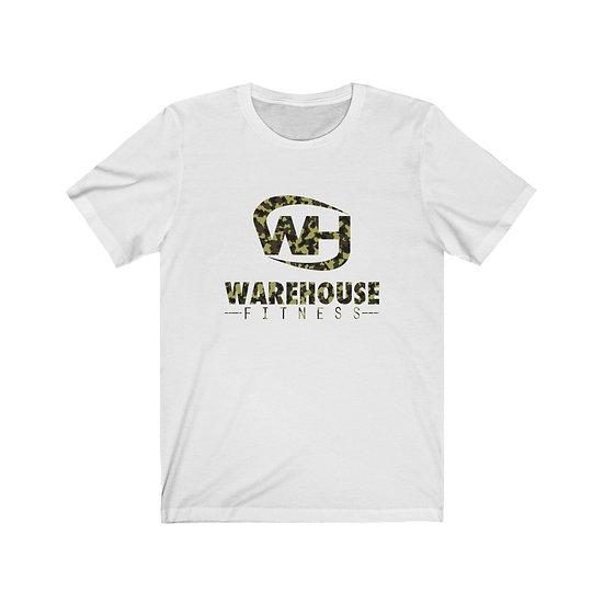 WHF CAMO - BIG LOGO - Unisex Jersey Short Sleeve Tee