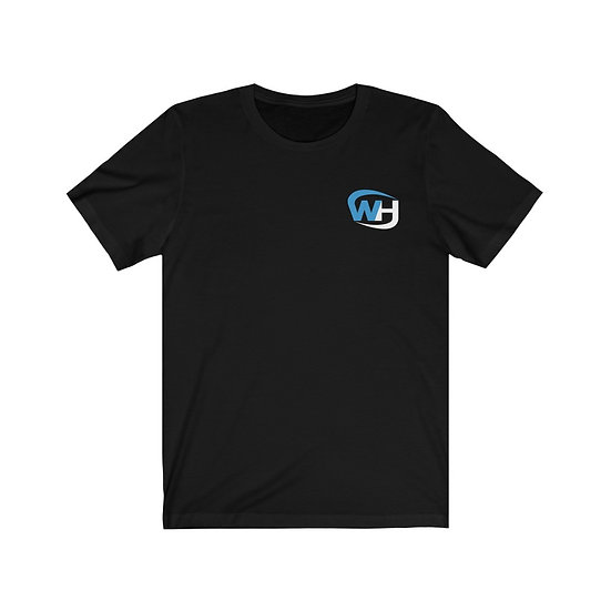 WAREHOUSE FITNESS - FRONT AND BACK - Unisex Jersey Short Sleeve Tee