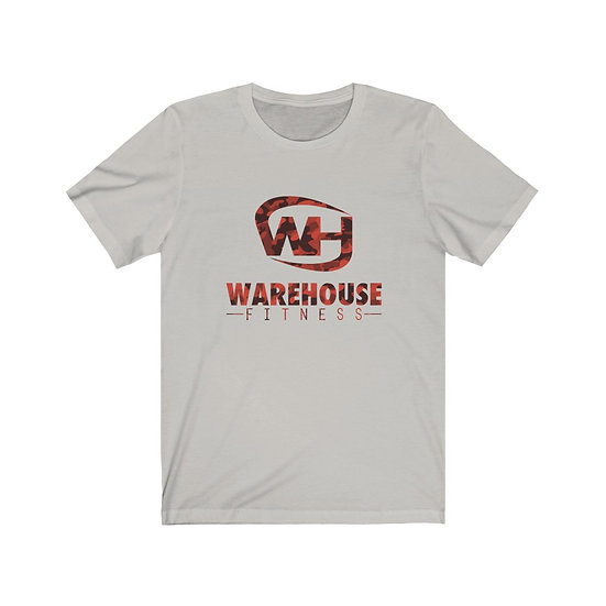 WHF RED CAMO - BIG LOGO - Unisex Jersey Short Sleeve Tee