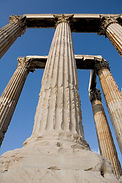Greece - Athens - Temple of Olympian Zeu