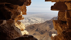 Masada is an ancient fortification in th
