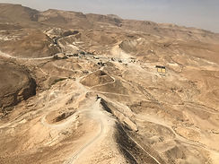 View from Masada including theater 2017-
