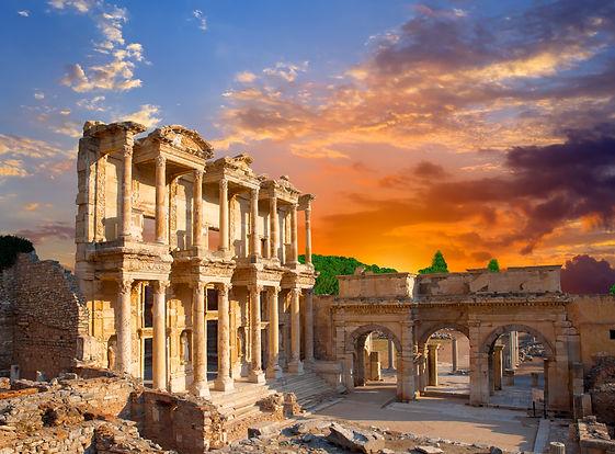 Celsus Library in Ephesus Turkey .jpg