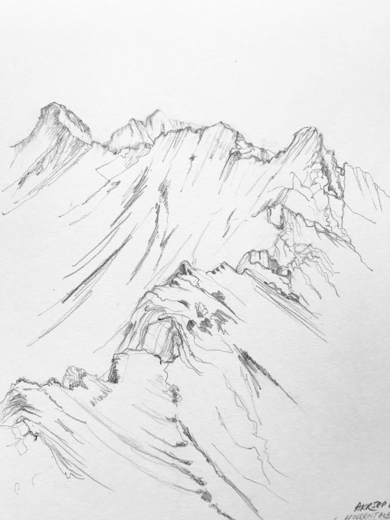 The Jubiläumsgrat Ridge Traverse