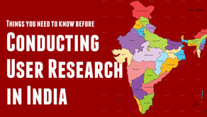 Conducting User Research in India