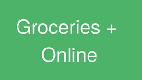 Groceries + Online