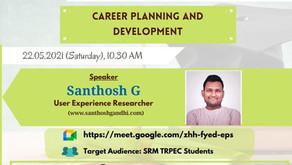 SRM TRP Alumni Talk (Career Planning & Development)