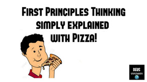 Learn First Principles Thinking with Pizza!