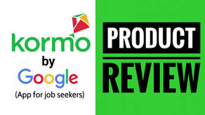 Kormo Jobs by Google | User Experience Review