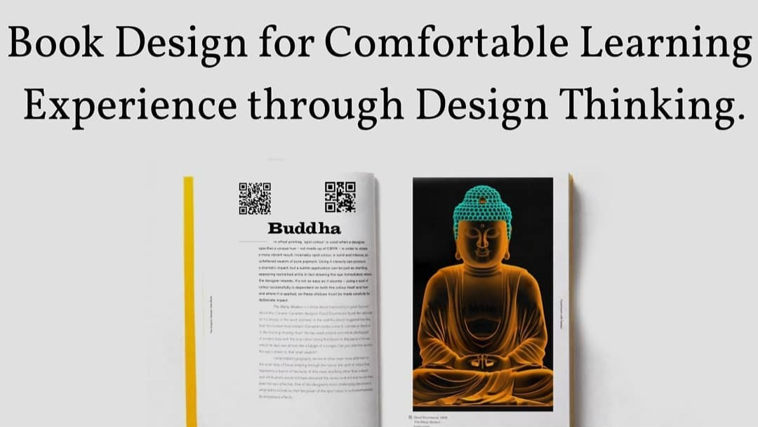Book Design for Comfortable Learning Experience