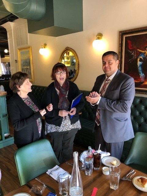Welcome and congratulations to Roger Campos, Vice President Branch Manager of the new PCSB Bank on Commerce Street, for being inducted into the Rotary Club of Yorktown at yesterday's meeting!  Next week's (Nov. 13th) guest speaker is Steve Reiss, Community Engagement Manager of Rise Against Hunger NY.  After nearly 25 years in both Corporate America and self-employed ventures, he was looking for opportunities that provided him with job satisfaction that went beyond his own financial needs -- and