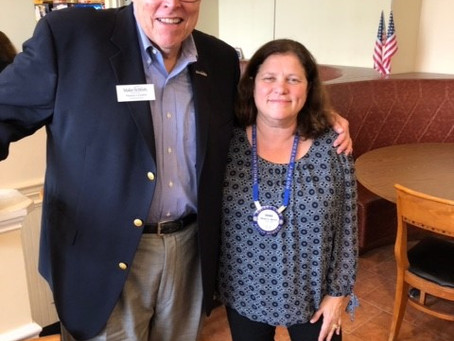 Rotary Club of Yorktown UPDATE - 11.8.2018