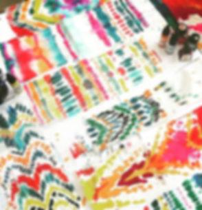 Shibori in the studio 🎨 #colourful #col