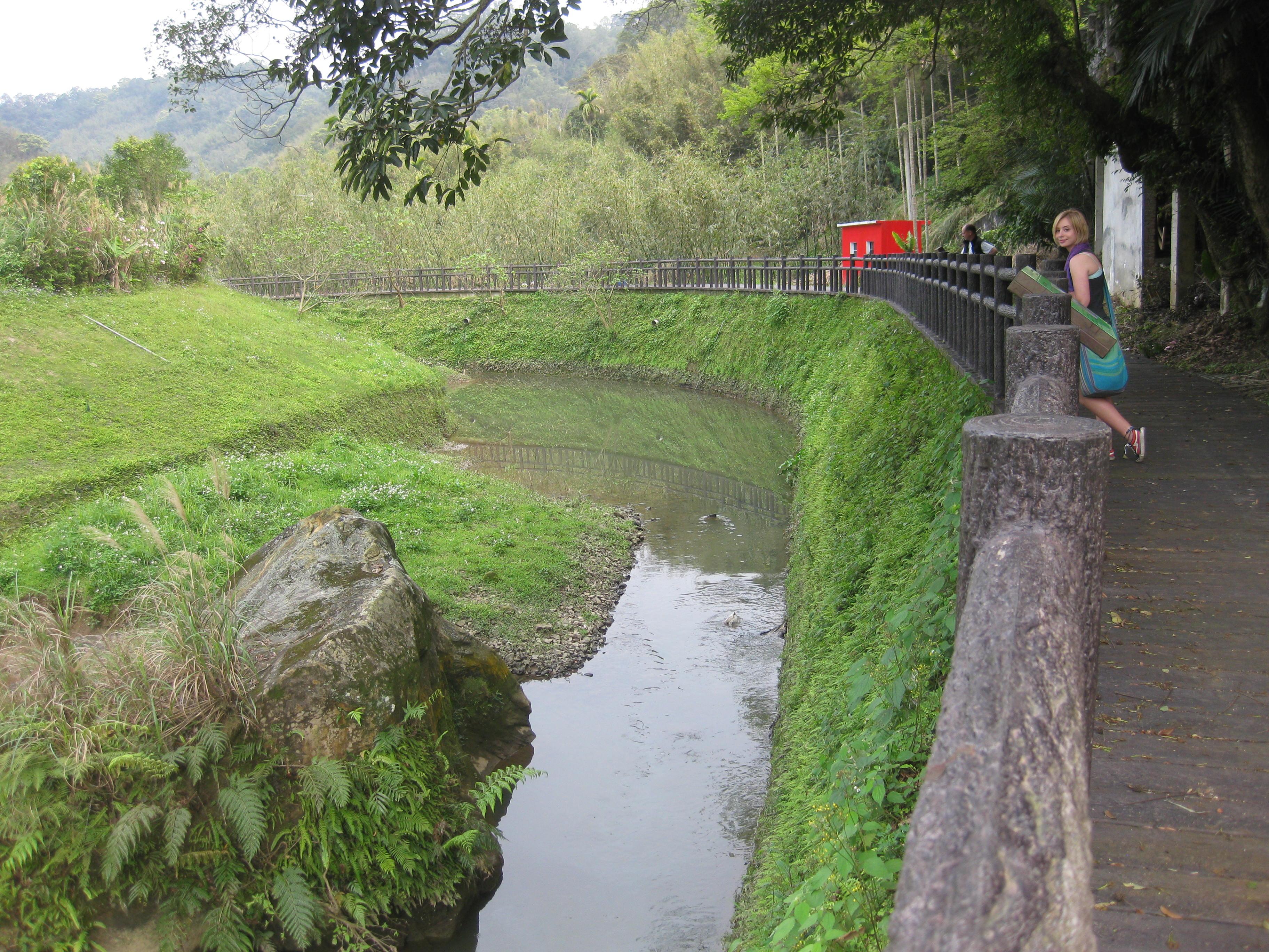 canal, rural Taiwan