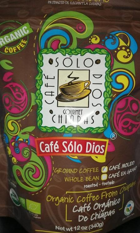 """""""Café Sólo Dios""""MOLIDO AMERICANO 340 GR"""
