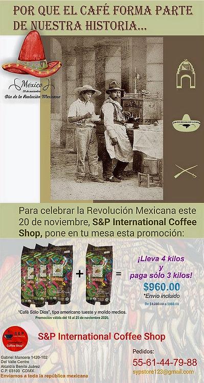 Promoción Revolución Mexicana