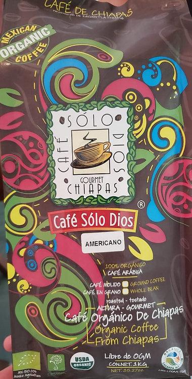 """""""Café Sólo Dios""""AMERICANO 1 KILO"""
