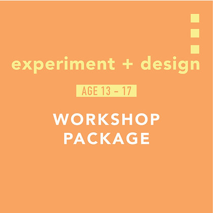experiment + design package