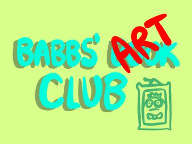 Babbs' Art Club Launch