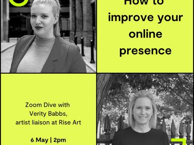Online Presence Workshop with Creative Entrepreneurs