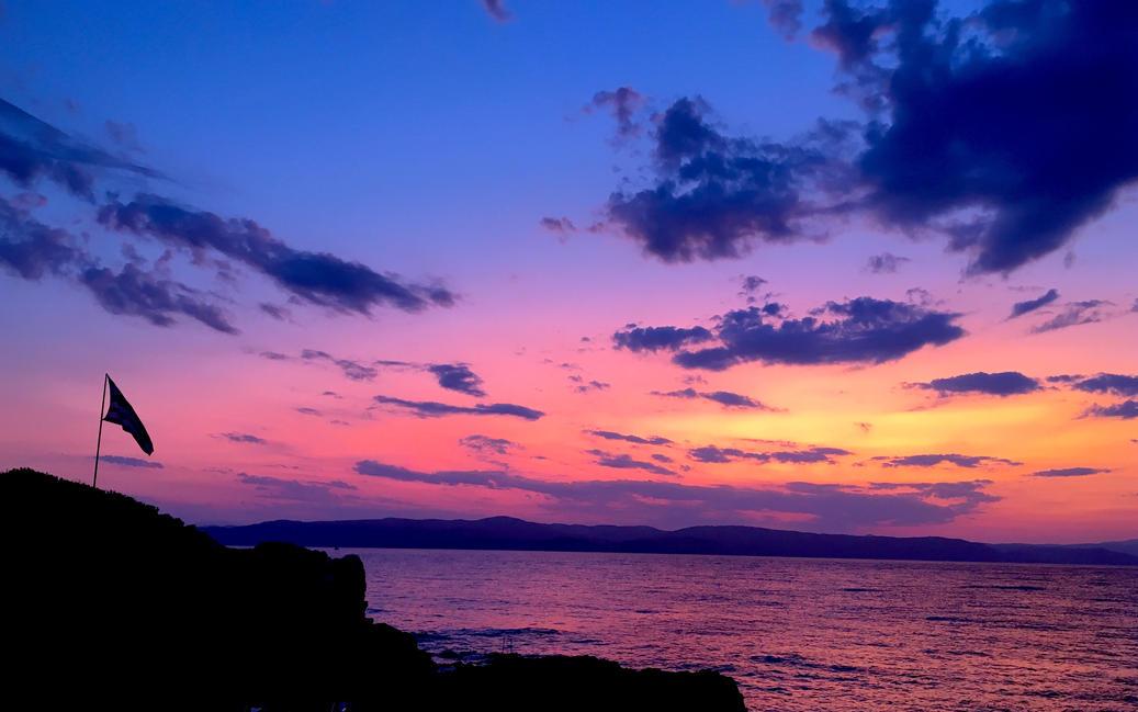 Sunset at Kechria Skiathos.JPG