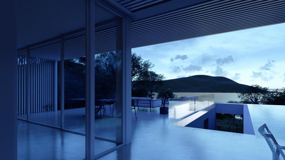 Evening view OHLIVE beach villa.jpg