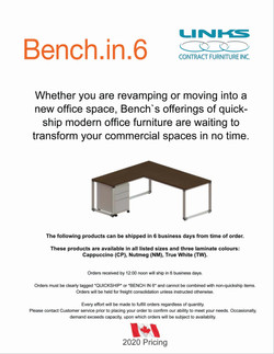 Bench In 6 - CAD