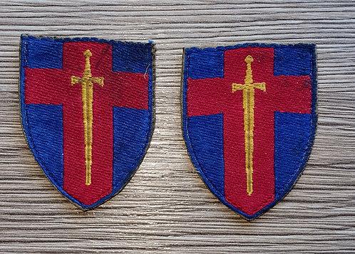 WW2 Army of the Rhine arm badges