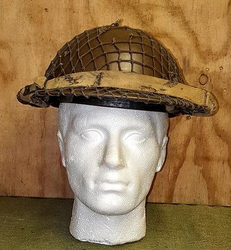 Ww2 British mk2 helmet.