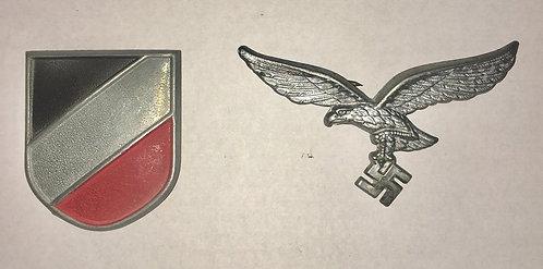 Luftwaffe Pith Helmet Decals/Badges