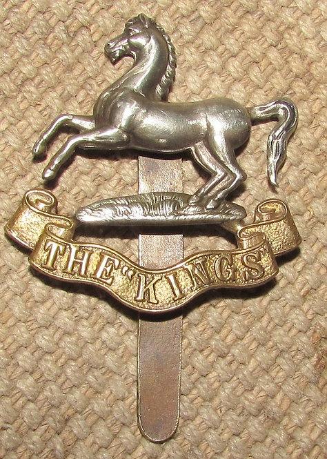 Boer War-WW1 Liverpool Kings Regiment Cap Badge