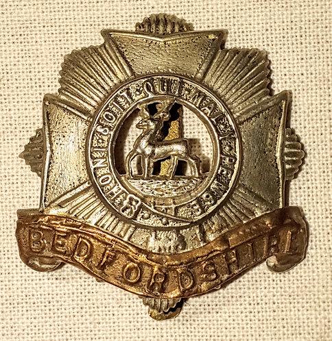 Original Bedfordshire Regiment cap