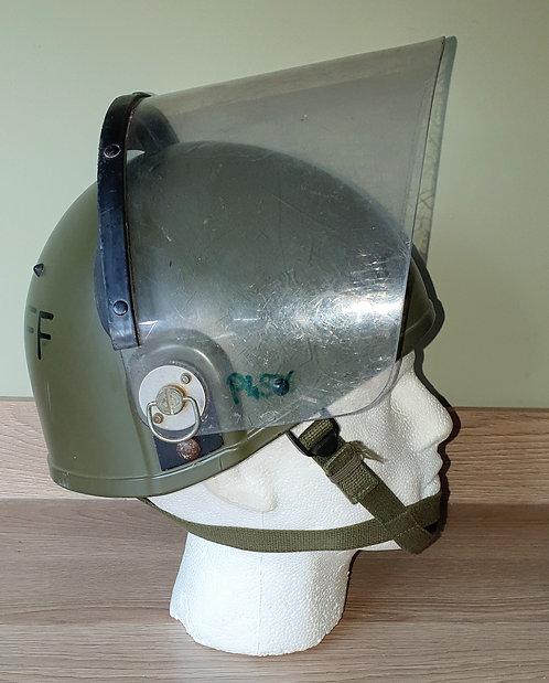 Seldom seen NI riot helmet