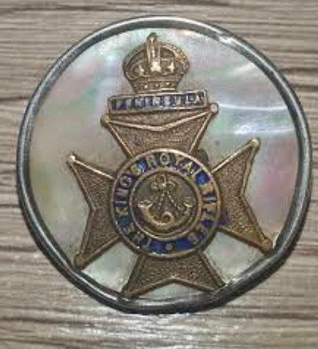 WW1  kings Royal Rifle Brigade sweetheart brooch