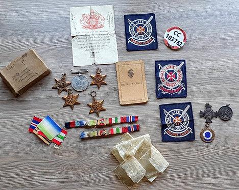 WW2 Naval medal Group