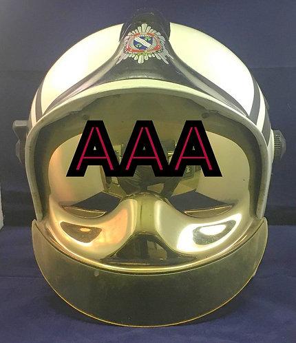 A Gallet made Fire Officers Helmet