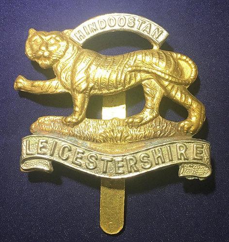 WW1 Leicestershire Regiment Cap Badge Original