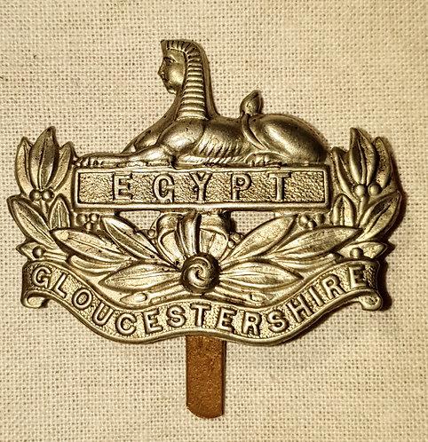 Original Gloucestershire Regiment cap badge