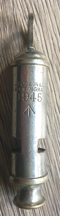 WW2 trench whistle 1945