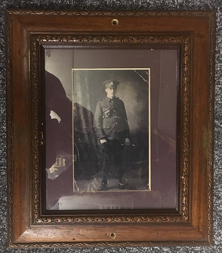 WW1 Framed Photo Royal Field Artillery
