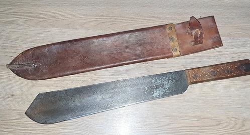 WW2 dated machete.