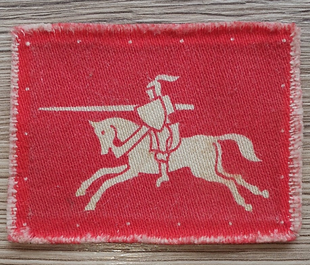 WW2 printed 1943 Eighth army corps division patch