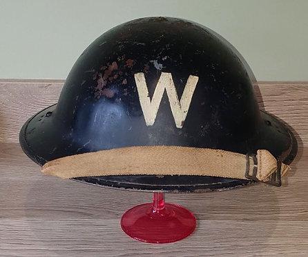 WW2 ARP Wardens helmet.