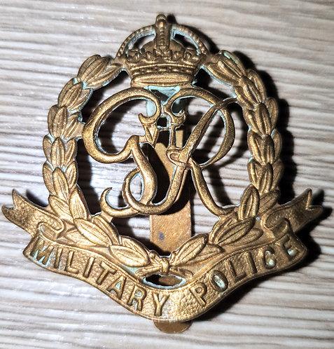 WW2 Military Police cap badge