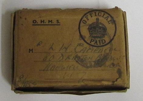 WW2 Boxed and unworn Burma Star Group