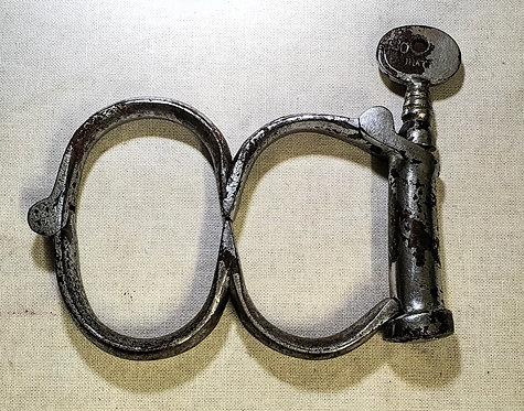 Victorian Irish 8 handcuffs