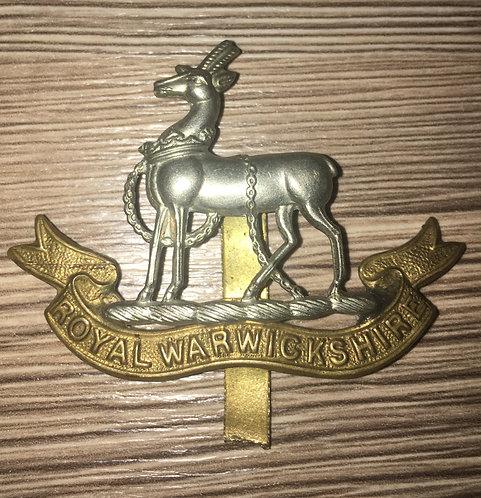 Warwickshire Regiment Cap Badge
