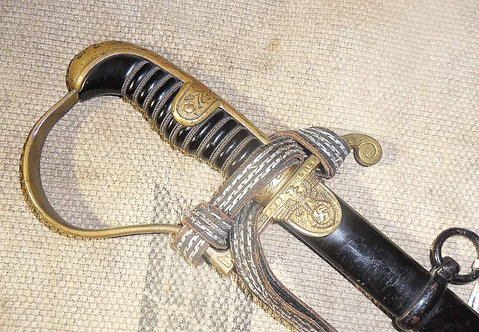 WW2 German Army Officers Sword Anton Wingen Jr.