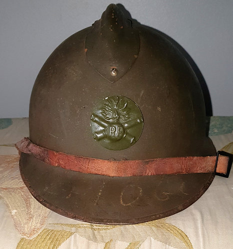 French 1927 pattern artillery helmet